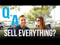 Q & A | SELL EVERYTHING in an RV