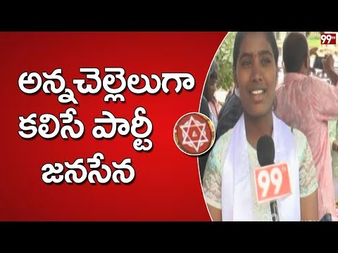 Raksha Bandhan Celebrations at Janasena Party Office | Ongole | 99TV Telugu