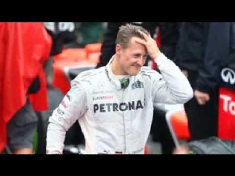 Michael Schumacher acordou do coma.