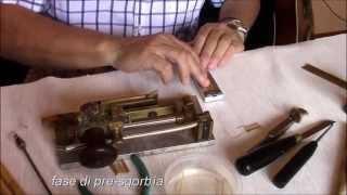 Carlo Romano - la costruzione dell'ancia per oboe