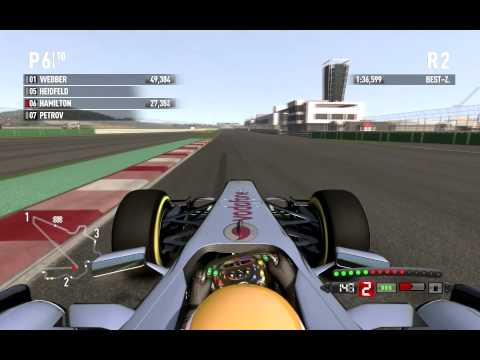 F1 2011 | Lewis Hamilton | Korea GP | Hot Lap | 3-3 Springs | 1:36.039