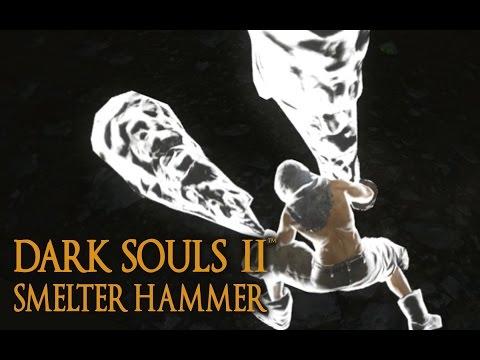 Dark Souls 2 Smelter Hammer Tutorial (dual wielding w/ power stance)