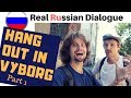 Real Russian Language Hanging Around In The City Of Vyborg 2018 mp3