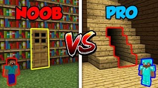Minecraft NOOB vs. PRO: SECRET ROOM in Minecraft!