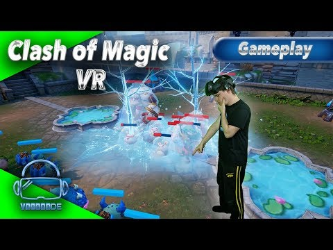 Clash of Magic VR - Bockschwere VR Taktik [Let's Play][Gameplay][German][HTC Vive][Virtual Reality]