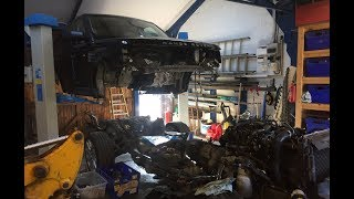 I bought the Cheapest range rover sport pt 4 going back together