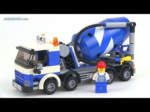 LEGO City 7990 Cement Mixer set Review!