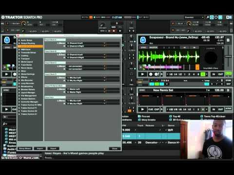 DJ with 1 Turntable Tip iwith DJ Mac