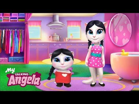 МОЯ ГОВОРЯЩАЯ АНДЖЕЛА Младшая сестра в гостях у Анджелы 2