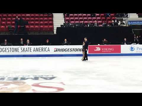 "Meagan DUHAMEL / Eric RADFORD SP ""With Or Without You"" 2017 Bridgestone Skate America (Fan Cam)"