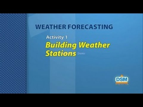 Weather Forecasting - Activity 1: Building Weather Stations