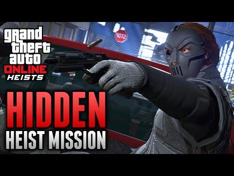 GTA 5 Online - Hidden Bonus Heist Mission Found in GTA 5 Online (GTA 5 Online Heists)