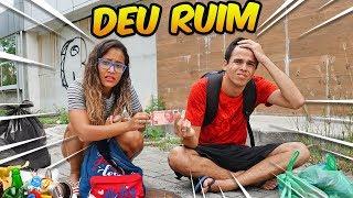SOBREVIVENDO O DIA INTEIRO COM 10 REAIS! (PASSEI MAL) - KIDS FUN