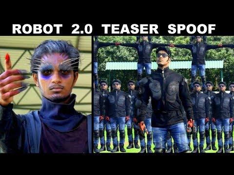 ROBOT 2.0 Teaser Spoof | Rajinikanth | Akshay Kumar | OYE TV thumbnail
