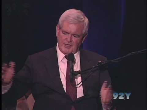 0 Newt Gingrich on Citizens United at 92nd Street Y