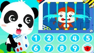 Little Panda's Math Adventure - Baby Learn Basic Math Numbers & Shapes - Kids Fun Educational Games