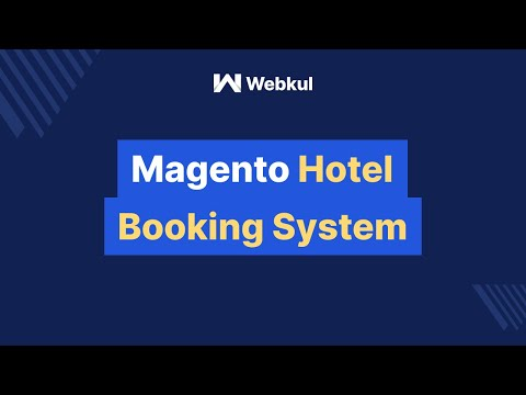 Magento Hotel Booking System - Administrator Management