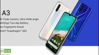 Xiaomi Mi A3 with 32MP Selfie Camera, Triple Rear Cameras Launched: Full Specifications, Price!!