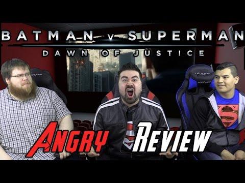 Batman v Superman Angry Movie Review