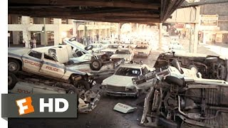 The Blues Brothers 1980 Chased By The Cops Scene 7 9 Movieclips