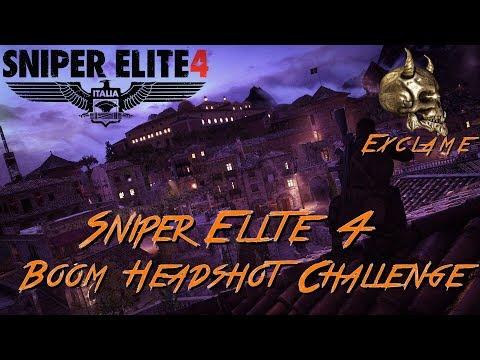 Sniper Elite 4: Deathstorm 2 - Boom! Headshot! Challenge Guide