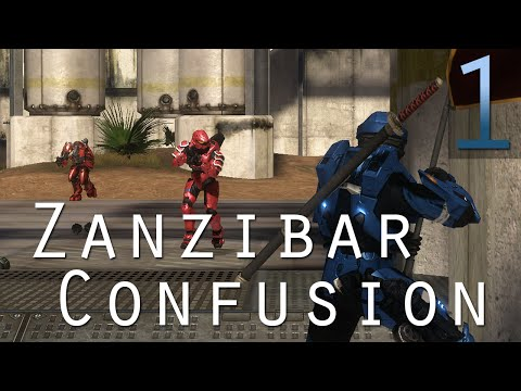 [1] Zanzibar Confusion (Halo 3 Custom Games w/ GaLm, the Derp Crew, and viewers)