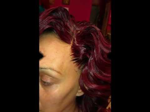 SEW-IN W/ ILLUSION PART AND HAIRLINE