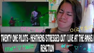 Twenty One Pilots - Heathens/Stressed Out (Live at the AMAs) [Reaction Video] ~TURN UP~