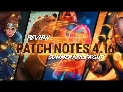 PATCH NOTES 4.16: THEY BUFFED CU CHULAINN?!?!?! - Incon - Smite