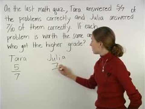 Fraction Word Problems - MathHelp.com - Math Help - YouTube
