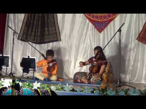 O Palan Hare ... From Bollywood Movie Laggan With Violin By Sreya & Shivam video