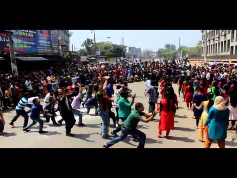 ICC World Twenty20 Bangladesh 2014 Flash Mob -- BUBT (Official Video)