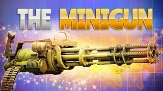 THE MINIGUN! (Fortnite Battle Royale)