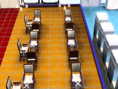 Plano de cocina con restaurante youtube for Mobiliario cocina restaurante