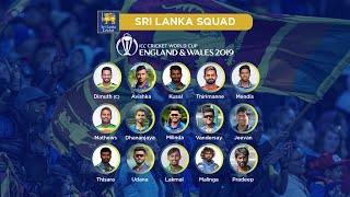 Sri Lanka announce ICC Cricket World Cup 2019 squad