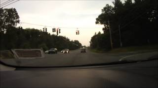 NY State Trooper Runs Red Light (Clifton Park)