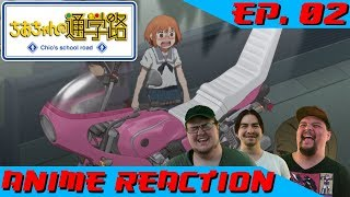 Anime Reaction: Chio chan no Tsuugakuro Ep. 02