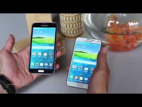 So sánh Samsung Galaxy S5 : Đen & Trắng