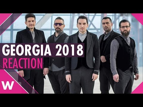 "Georgia | Eurovision 2018 reaction video | Iriao ""For You"""