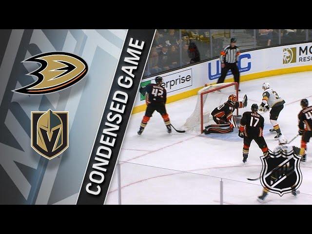 021918 Condensed Game Ducks  Golden Knights