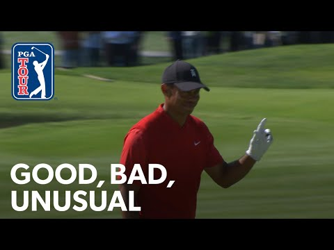 Tiger takes on Chris Pratt's method, Rory almost holes out at Tiger's feet