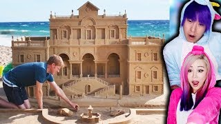 The Most EPIC Sand Castles You've EVER Seen!