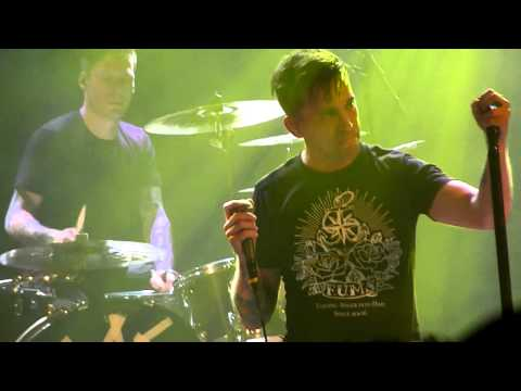 Billy Talent- Ben speaks about Aaron's fight with Multiple Sclerosis (F U M.S show) 3/26/11