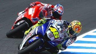 Best Battle Valentinorossi Vs Stoner 2008  Motogp Sachsenring  Germany 2008