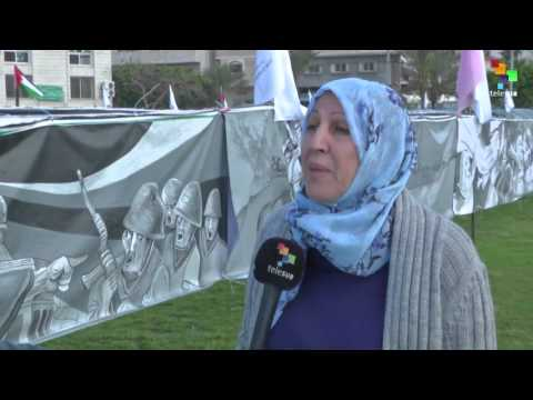 Palestine: Gaza Unveils World's Largest Mural to Mark Land Day
