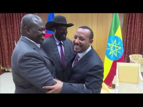 Ethiopia: የጠቅላይ ሚኒስትር ዶ/ር አብይ ቆይታ ከደቡብ ሱዳን ተቀናቃኝ ኃይሎች ጋር