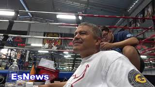 The Big G Got 3 Phone Lines He Explains Why EsNews Boxing