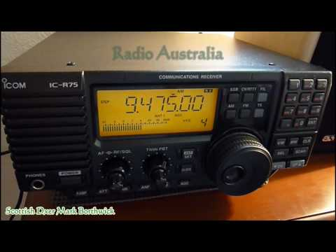 Homemade Shortwave Magnetic Loop   KTWR Guam and Radio Australia received In Scotland