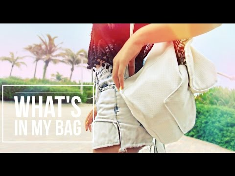 What's in My Bag? ☼ Summer Edition!