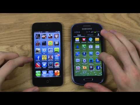 iPhone 5 vs. Galaxy S3 Mini